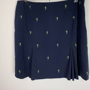 EP pro golf skirt navy with embroidered 🏌️♀️ 12